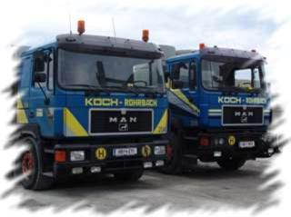 Werk rohrbach schlag kontaktseite koch betonwerke for Koch transporte