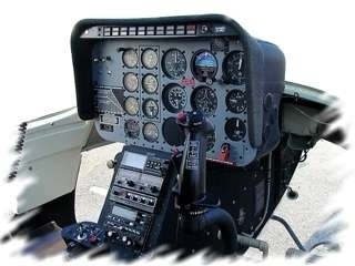 Werbeflüge mit einem Hubschrauber für Firmen